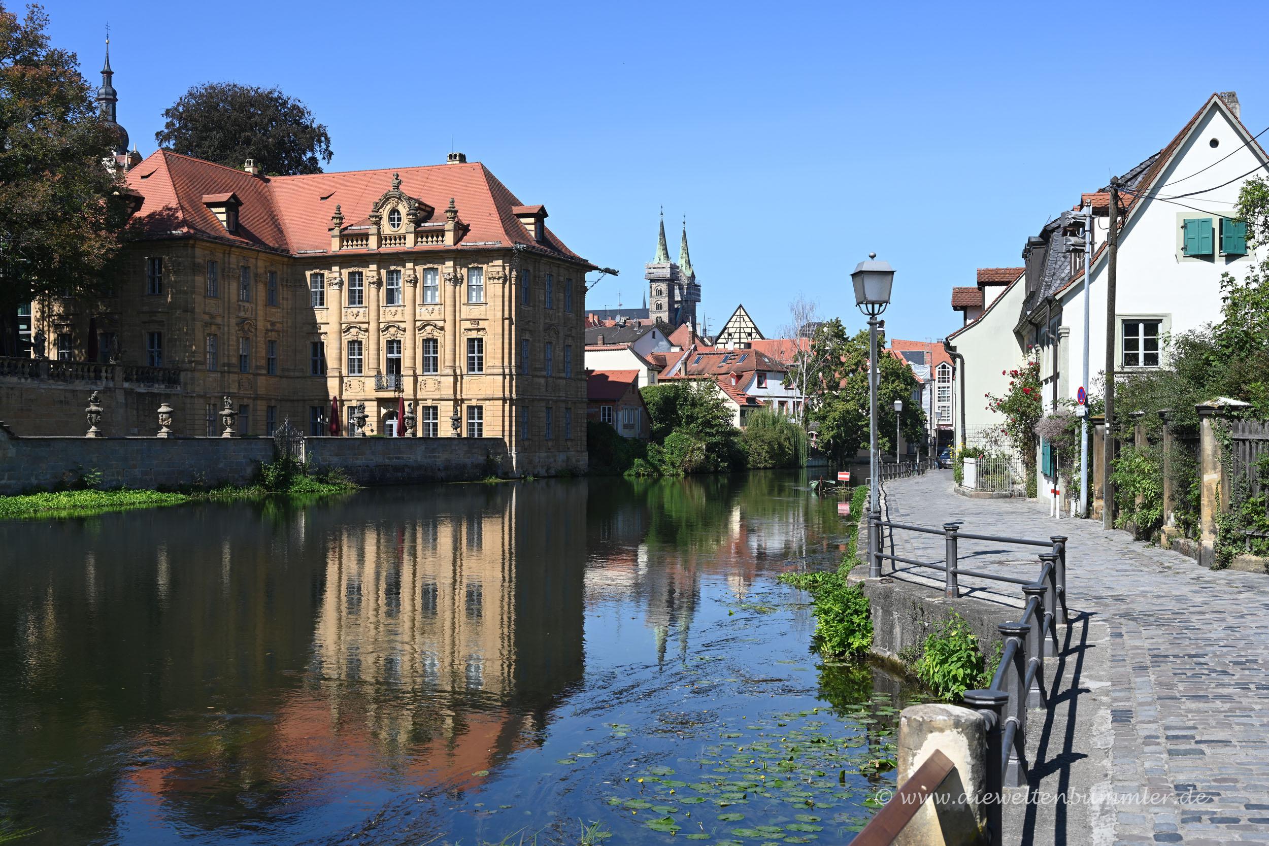 Weg in die Altstadt von Bamberg