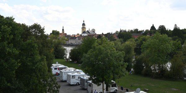 Wohnmobilstellplatz in Kitzingen