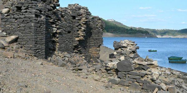 Ruinen im Edersee