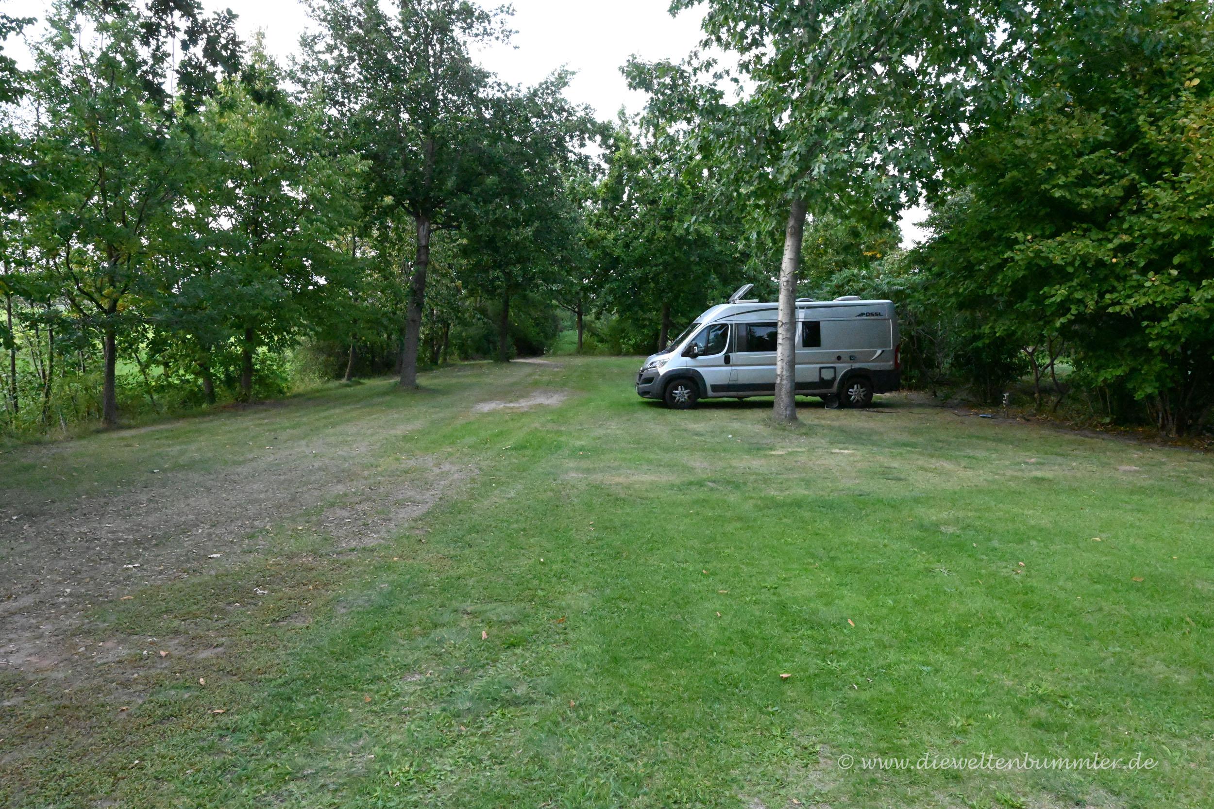 Gemütlicher Campingplatz