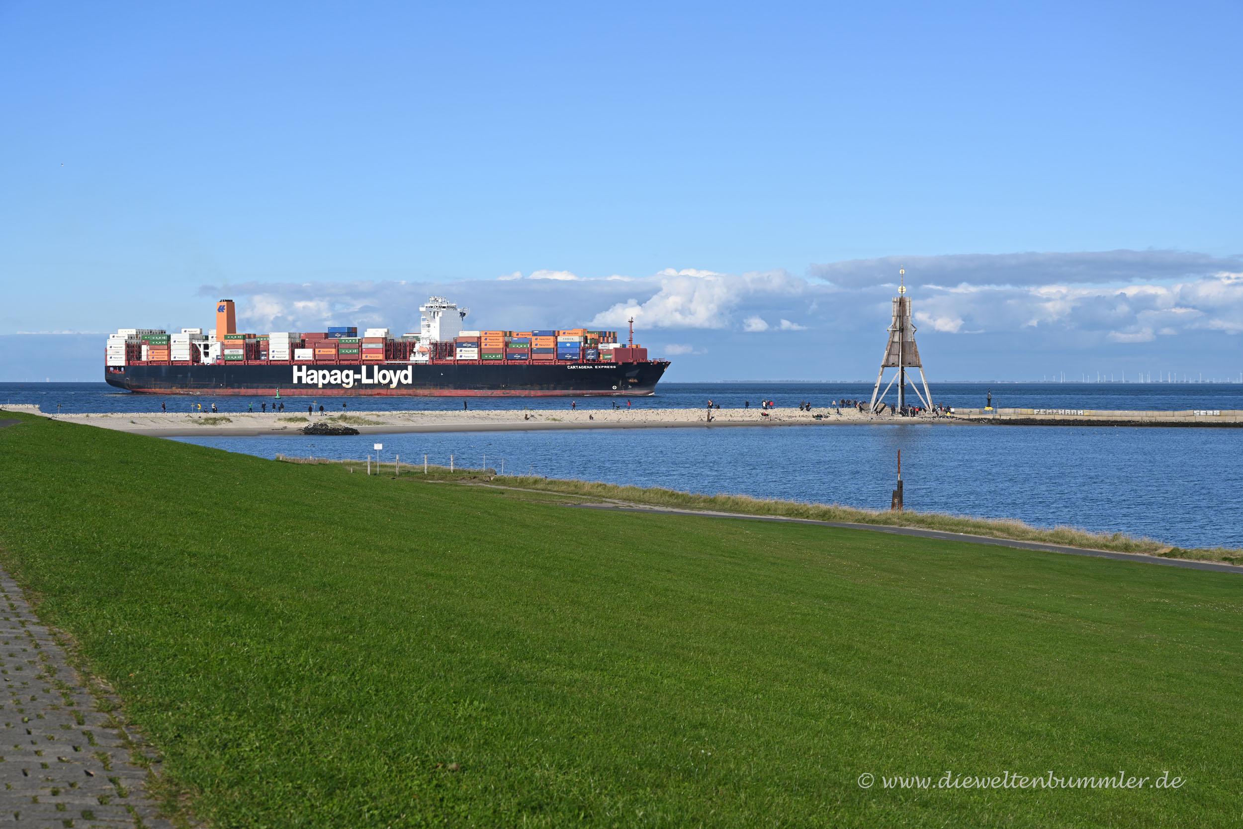 Containerschiff Cartagena Express