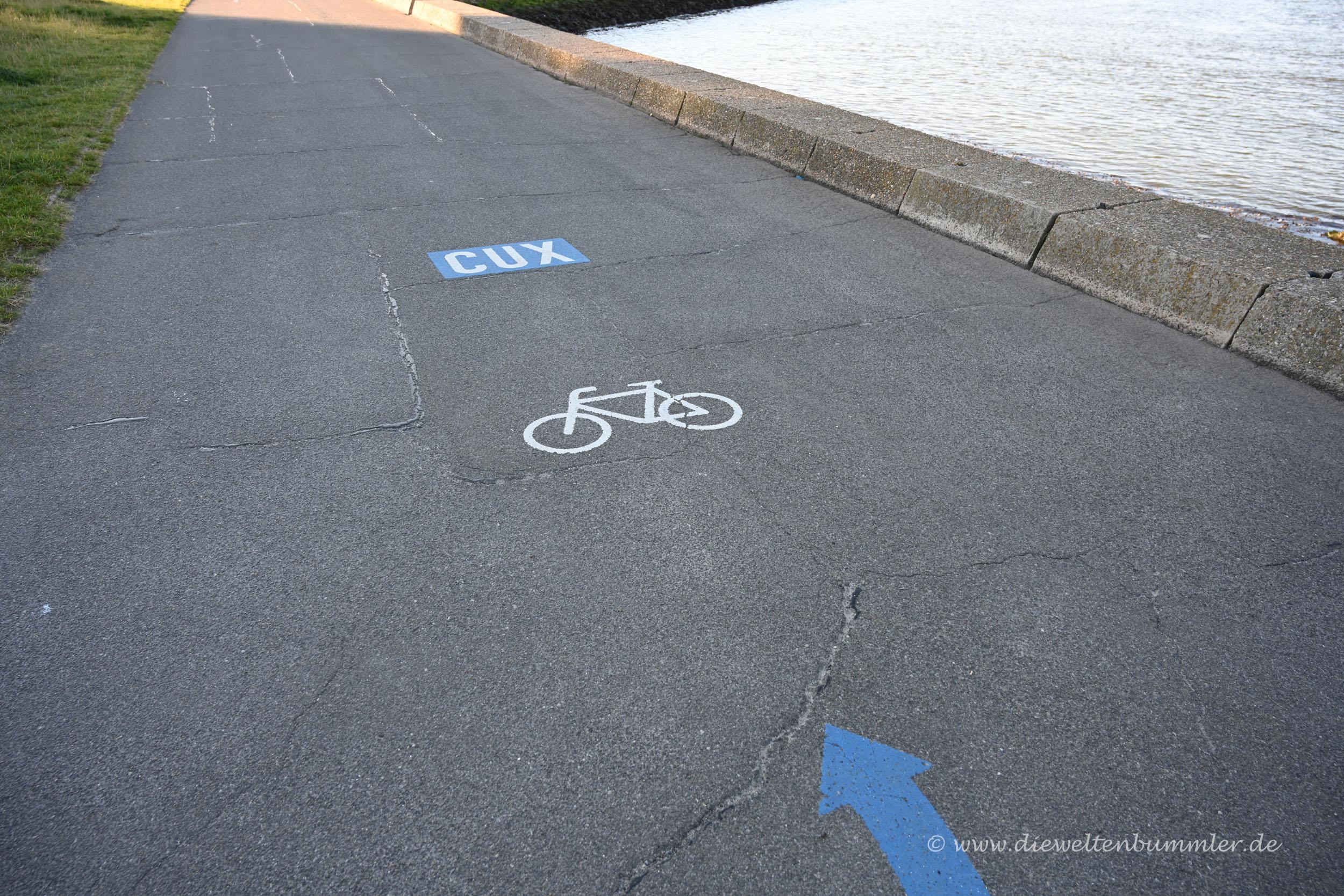 Radweg in Cuxhaven