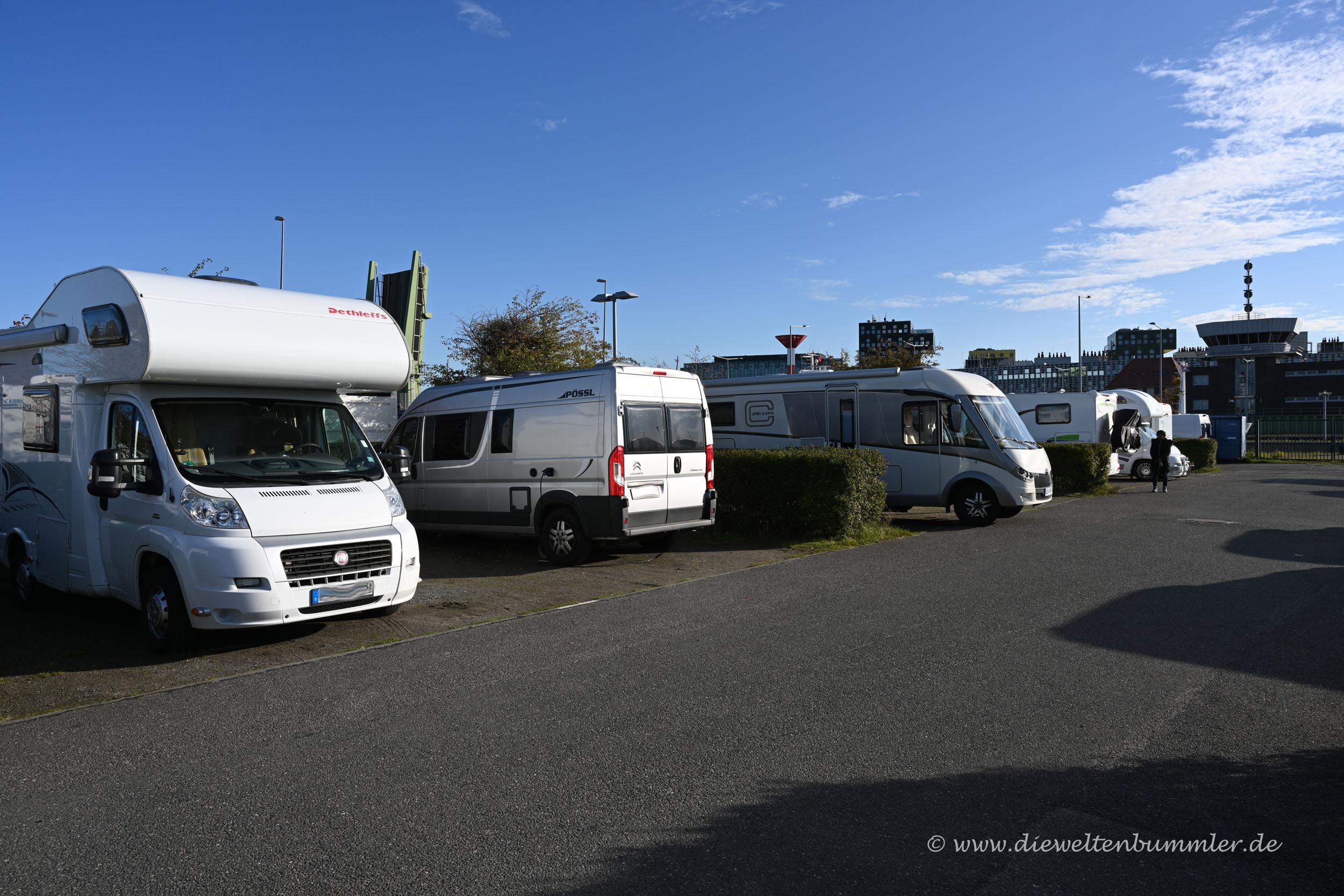 Wohnmobilstellplatz Bremerhaven