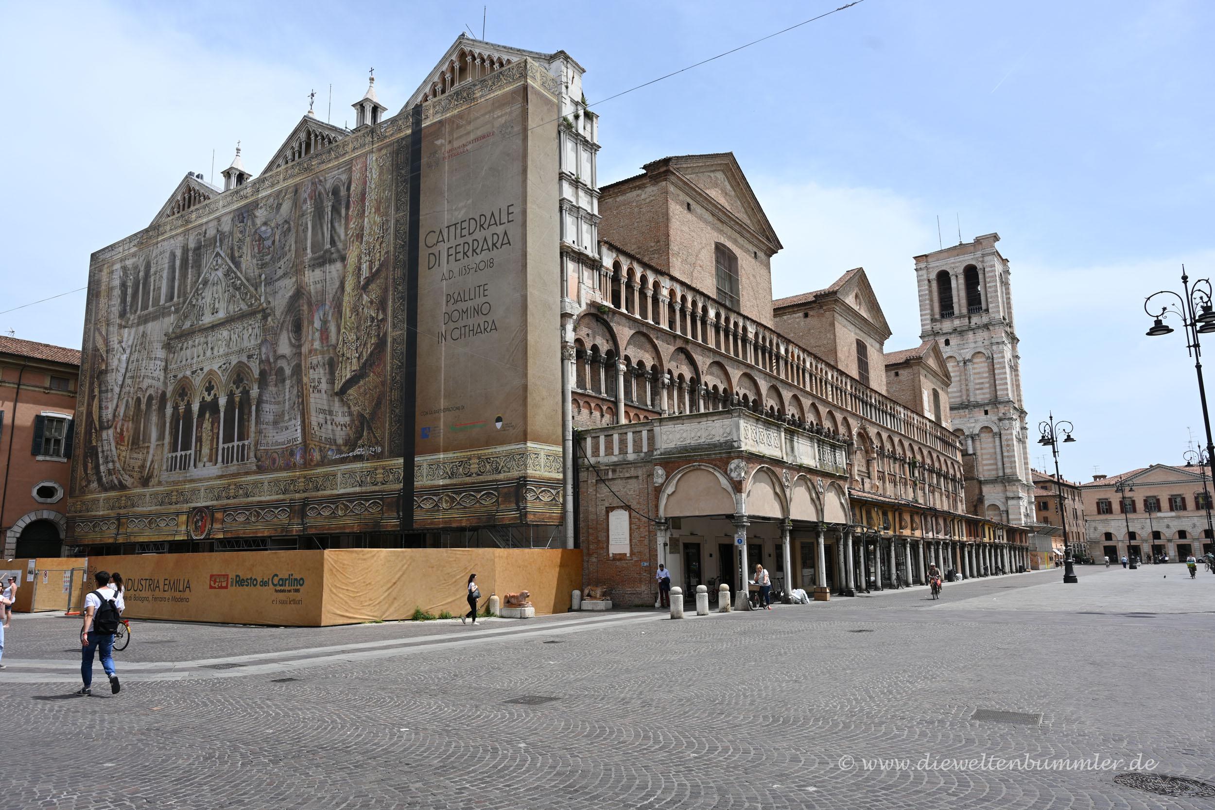Die Kathedrale wird restauriert