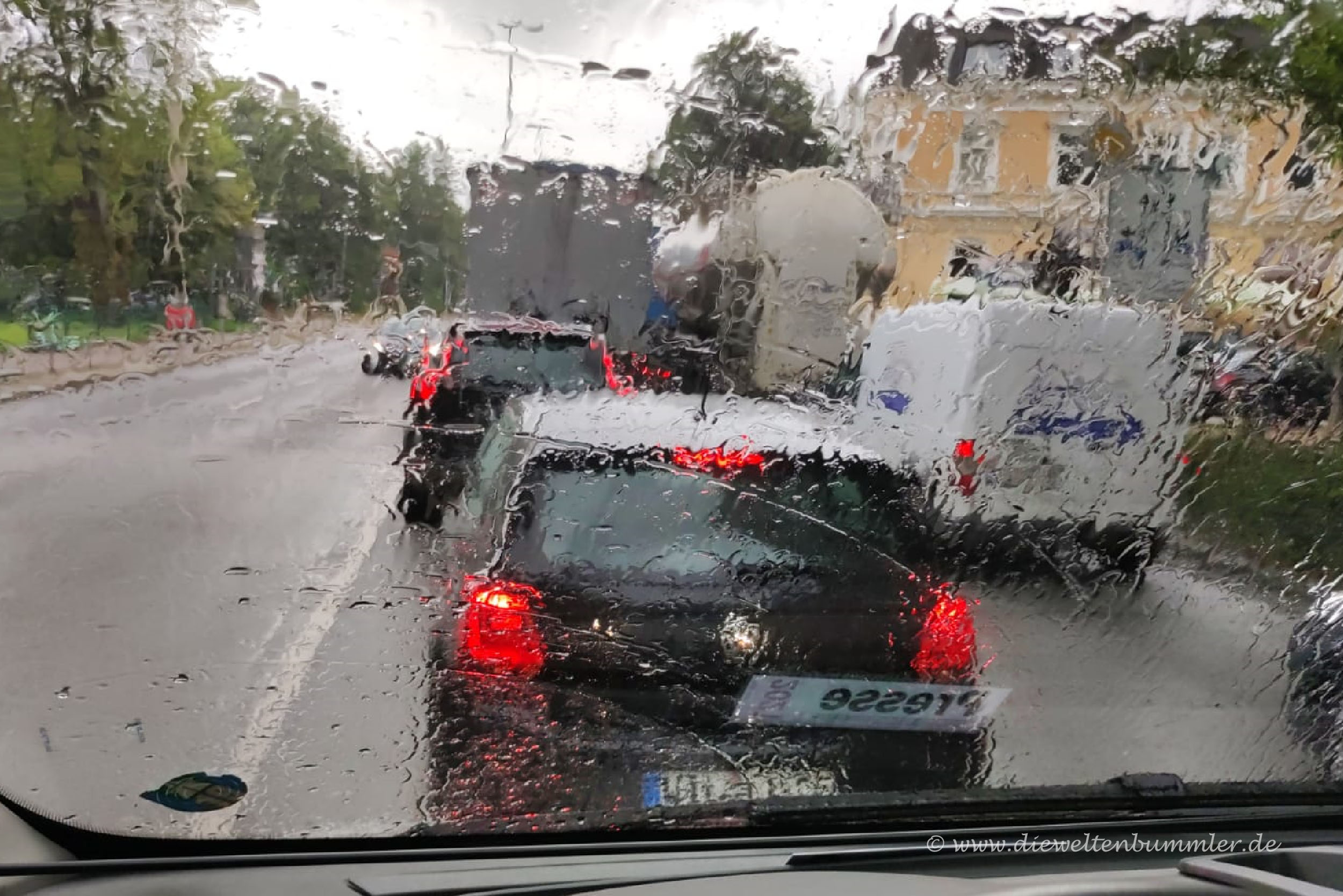 Stau und Regen gleichzeitig sind dann irgendwann zu viel